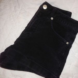 Forever 21 High Waisted Corduroy Shorts